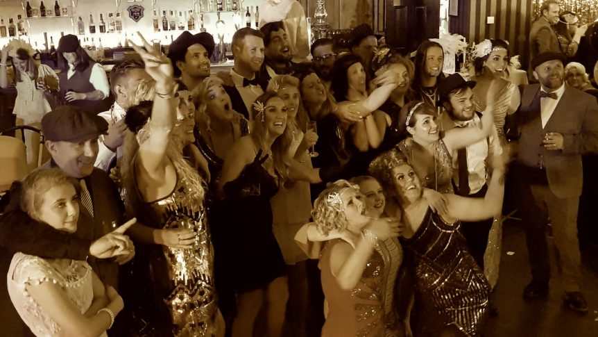 Great Gatsby Themed Entertainment at Bodmin Jail | Licence to Swing